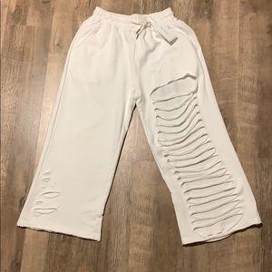 TOV holy NWT sweat pants